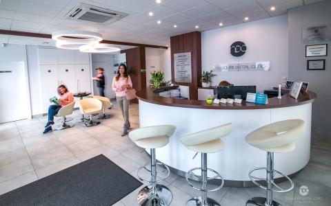 Recepcja Nowolipie Dental Clinic