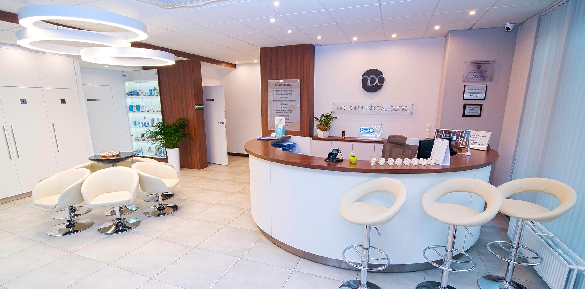 Nowolipie Dental Clinic - Recepcja